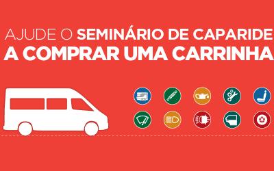 Ajude o Seminário de Caparide a comprar uma carrinha