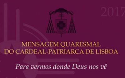 Renúncia Quaresmal de 2017 em favor das obras no Seminário