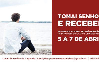 Retiro Vocacional – Páscoa 2019