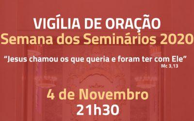 Vigília de Oração pelos Seminários
